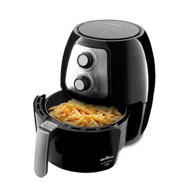 Fritadeira air fry bfr21p britânia - 1500w potência, timer