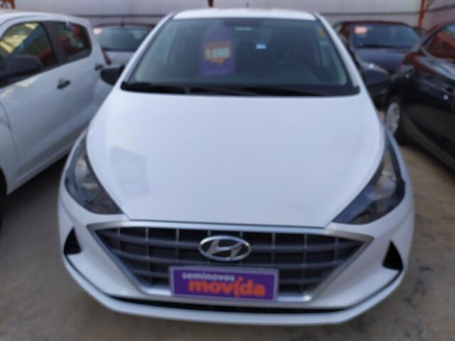 Hyundai hb20 1.0 12v sense branco 2020/2020 - goiânia