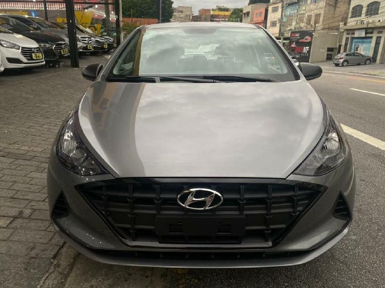 Hyundai hb20 1.0 12v sense cinza 2021/2021 - são paulo