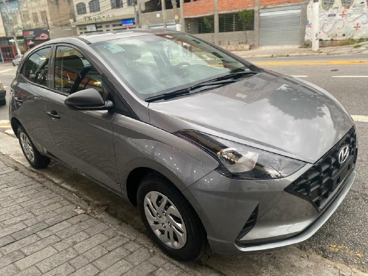 Hyundai hb20 1.0 12v sense prata 2021/2021 - são paulo