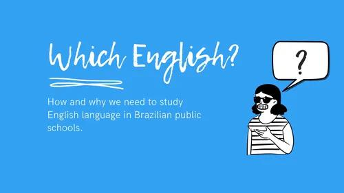 Língua inglesa: ensino, tradução, revisão, reforço