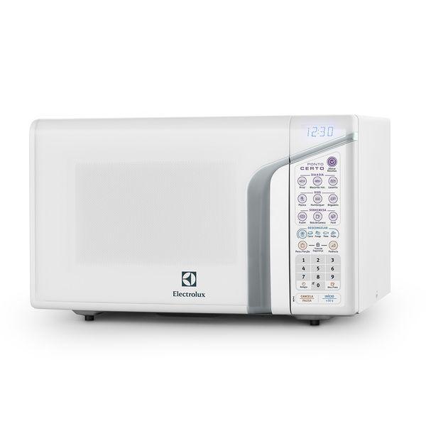 Micro-ondas 31 litros mep41 electrolux - menu prato certo e
