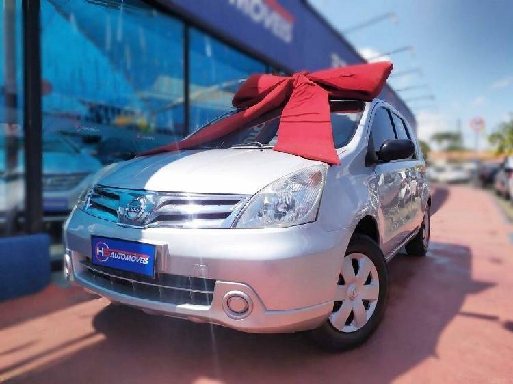 Nissan livina 1.6 16v prata 2013/2013 - campinas 1185944