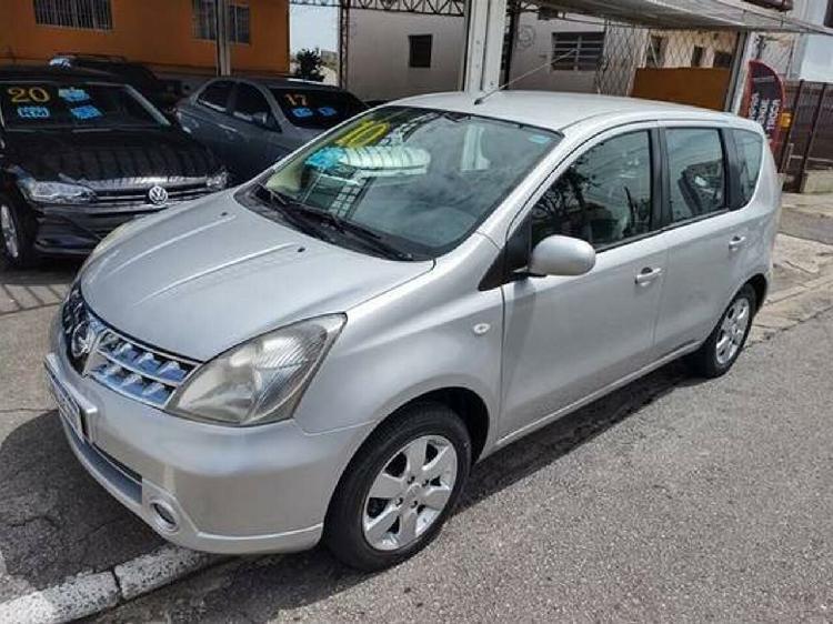 Nissan livina 1.8 sl prata 2009/2010 - são paulo 1276712