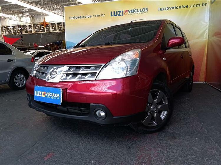 Nissan livina 1.8 sl vermelho 2009/2010 - campinas 1299377