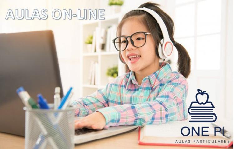 """Reforço escolar """"on-line"""""""