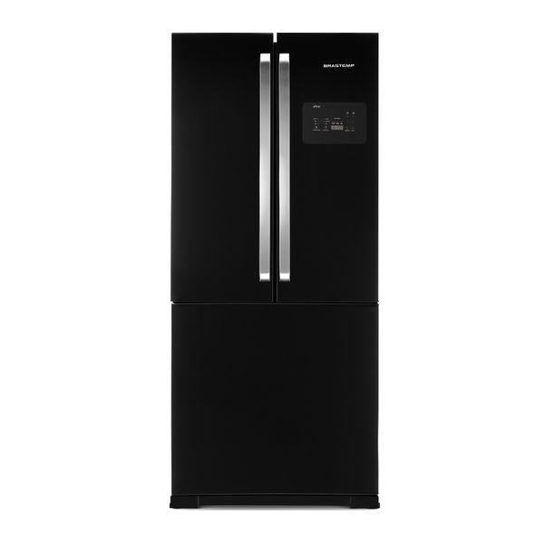 Refrigerador / geladeira brastemp side inverse black 540