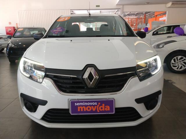 Renault logan 1.0 12v sce life branco 2020/2021 - bauru