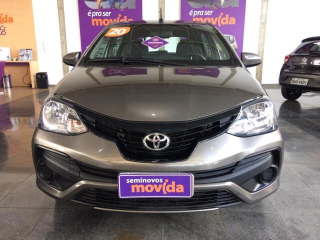 Toyota etios 1.3 x cinza 2019/2020 - são josé dos campos