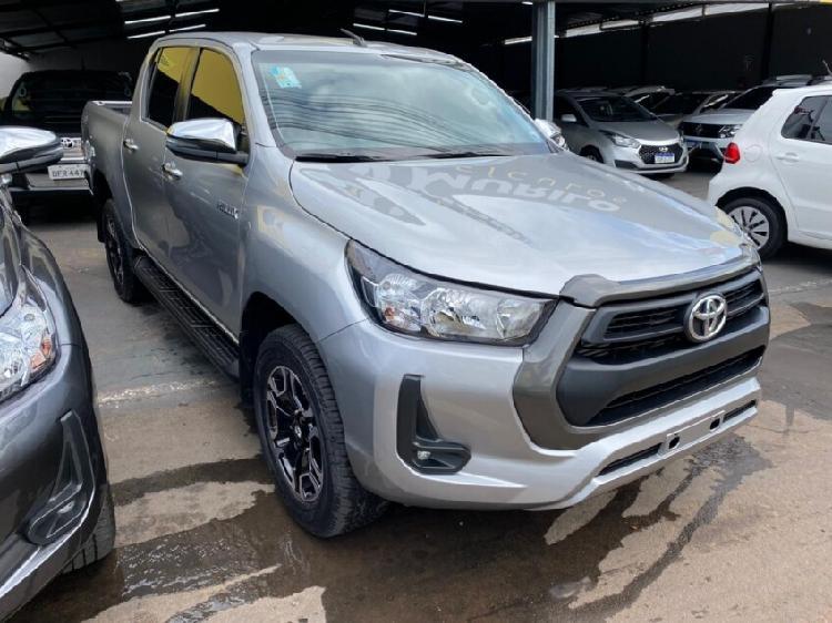 Toyota hilux 2.8 sr cinza 2021/2021 - trindade 1351727