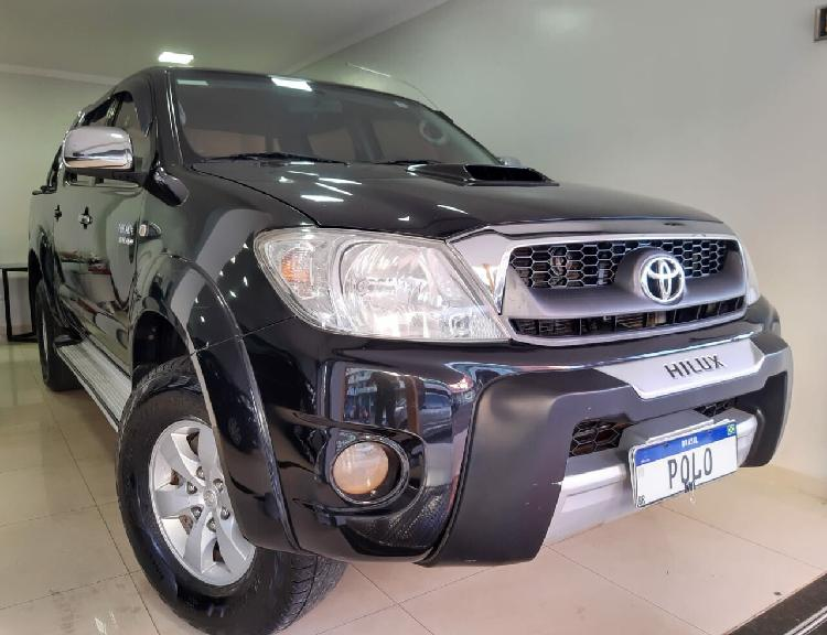 Toyota hilux 3.0 srv limited edition turbo preto 2011/2011 -