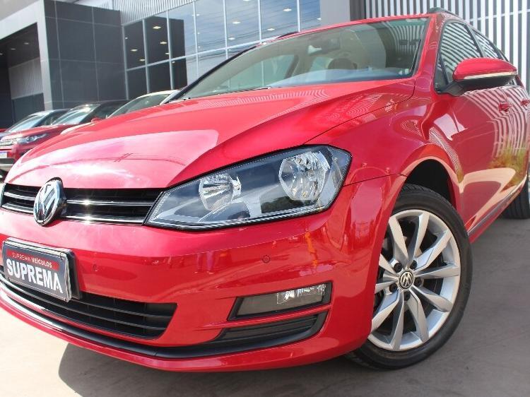 Volkswagen golf 1.4 tsi variant comfortline vermelho
