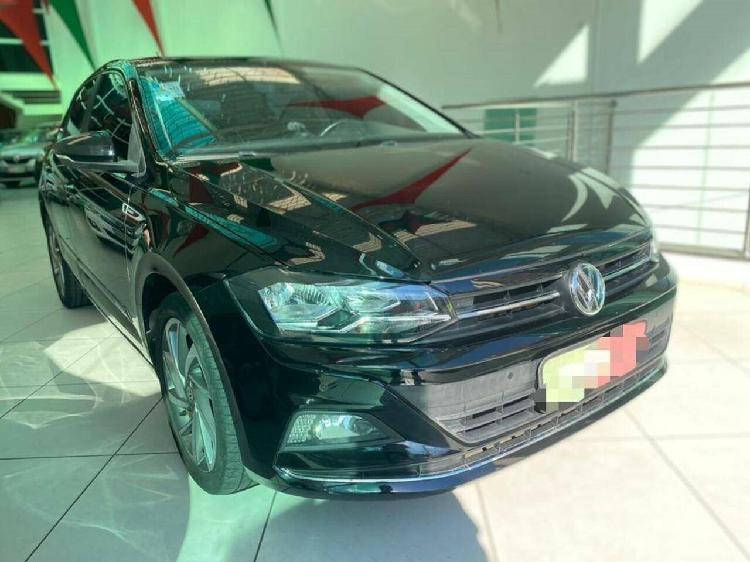 Volkswagen polo hatch 1.0 200 tsi highline preto 2018/2019 -