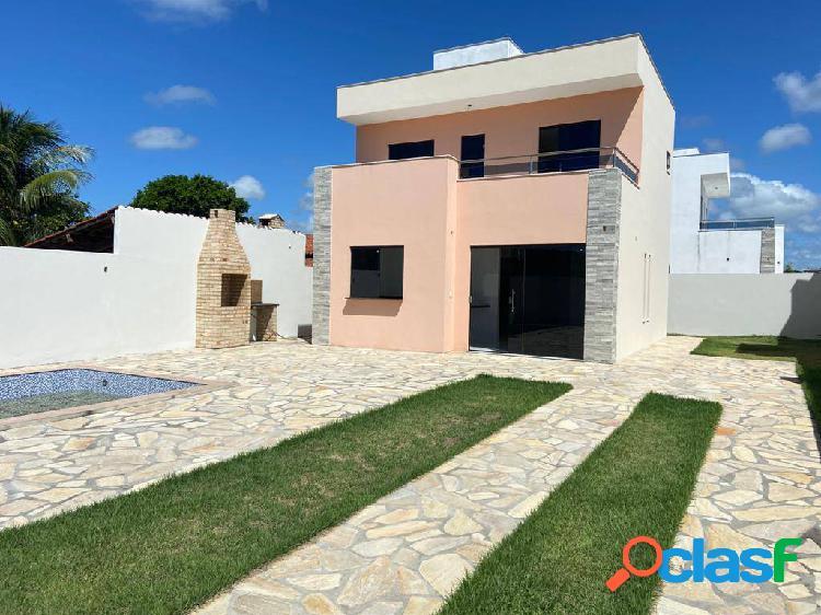 Excelentes casas duplex apenas 250 metros do mar! venha conhecer!