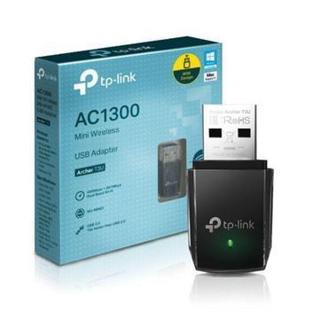 Adaptador usb mini wireless 400mpbs (ac1300) archer t3u