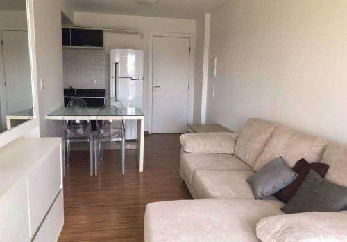 Apartamento decorado com 1 dormitório à venda no bairro