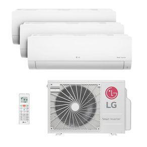 Ar condicionado multi split inverter lg 30.000 btus (1x evap