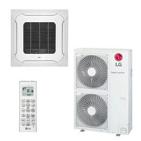 Ar condicionado split cassete inverter lg 48.000 btus quente