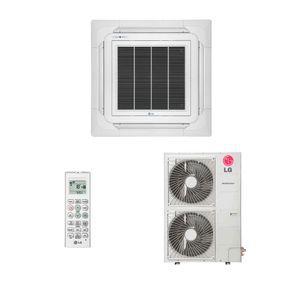 Ar condicionado split cassete inverter lg 54.000 btus quente
