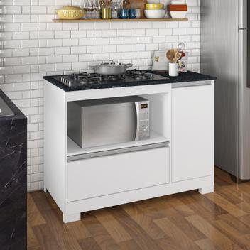 Balcão 1 porta para cooktop nt 3050 notável - notável
