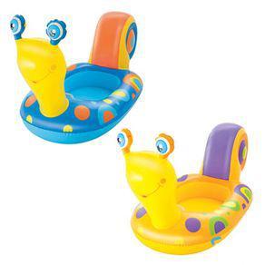 Bote com assento bebê 66x163 caracol 34102 bestway sortido