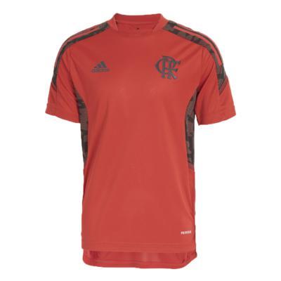 Camisa adidas infantil treino flamengo vermelha gk7363