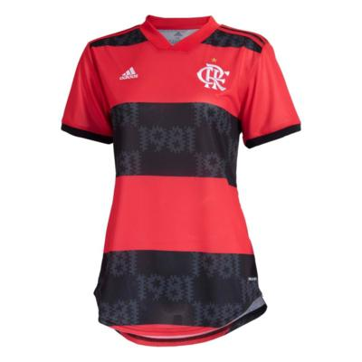 Camisa flamengo feminina jogo 1 adidas 2021 m
