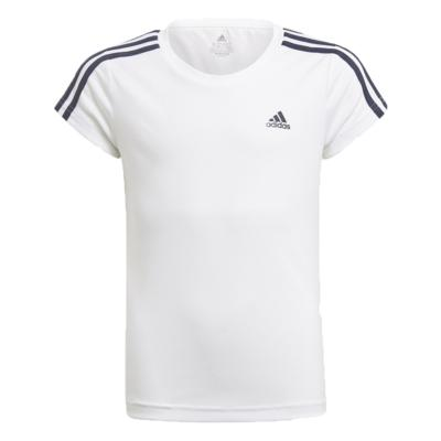 Camiseta adidas infantil 2 move branca menina gn1456 branco