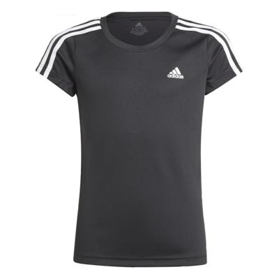 Camiseta adidas infantil 2 move preta menina gn1457 preto