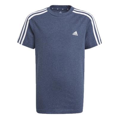 Camiseta adidas infantil essential azul menino gn3996
