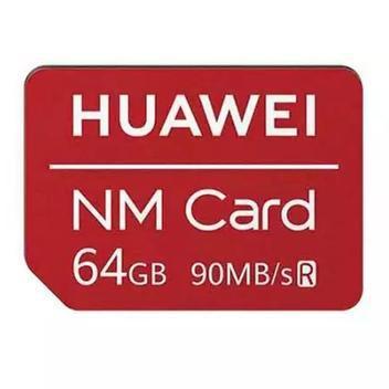 Cartão memória nano nm card 64gb 90mbs huawei -