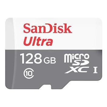 Cartão memória sandisk ultra 128gb micro sd original -