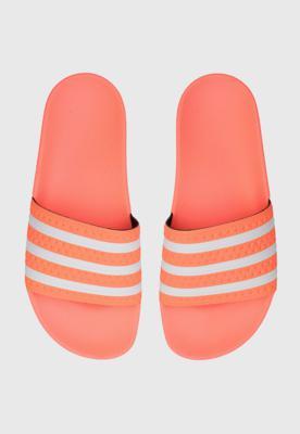 Chinelo slide adidas originals chinelo adilette w laranja