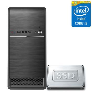 Computador desktop intel core i5 16gb ssd 240gb corpc fast -