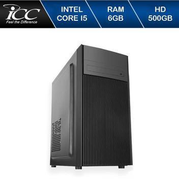 Computador desktop intel core i5 3.2ghz memória 6gb ddr3 hd