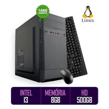 Computador pc cpu intel core i3 8gb 500 gb kit best pc -