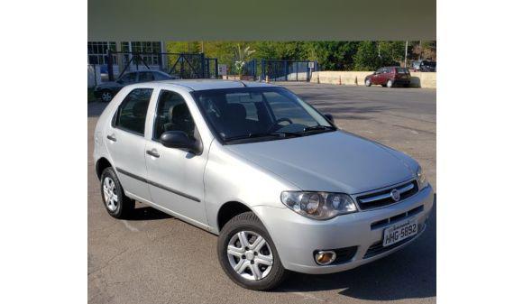 Fiat palio 1.0 1.0 economy fire flex 8v 4p 11/12 prata