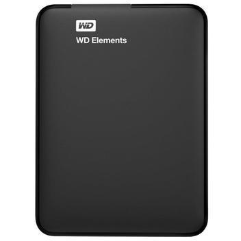 Hd externo 1tb usb 3.0 western digital wdbuzg0010bbk-wesn -