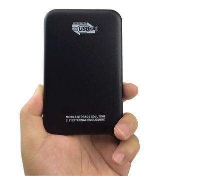 Hd externo 500gb yesstech portatil 2.5 pol - hd externo -