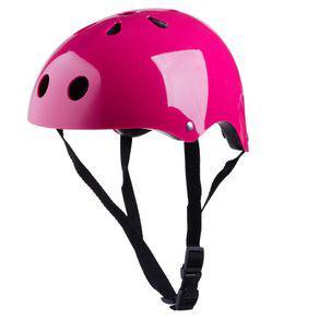 Kit proteção com capacete play&fun rosa