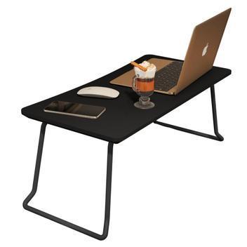 Mesa suporte bandeja para café e notebook com pés de ferro