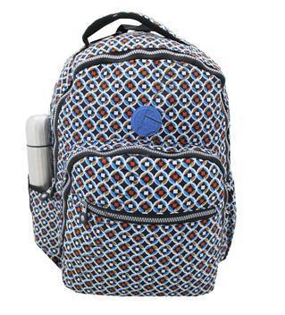 Mochila notebook feminina grande costas escolar facul m3689