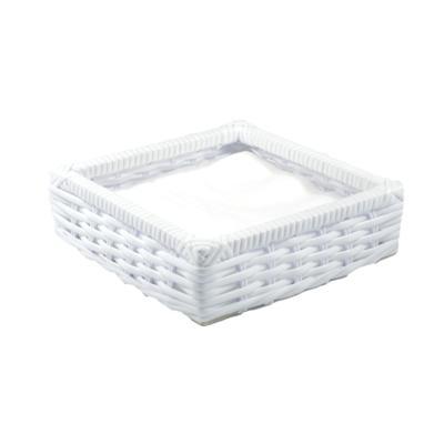 Porta guardanapo tradicional fibra sintetica- branco