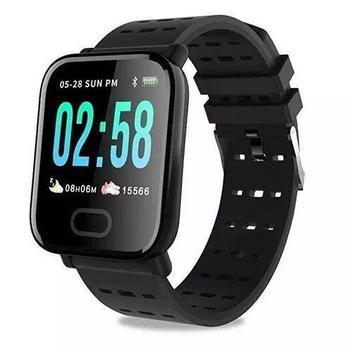 Relógio inteligente smartwatch pressão arterial e monitor