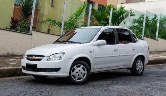 Chevrolet classic 1.0 life/ls 1.0 vhc flexp. 4p 12/12 branco