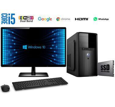 Computador Completo Intel Core i5 8GB SSD 240GB Windows 10