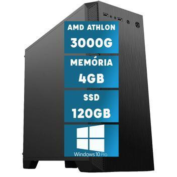 Computador desktop amd athlon 3000g 4gb (placa de vídeo