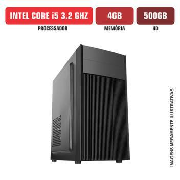 Computador flex computer intel core i5 4gb hd 500gb - cpu -