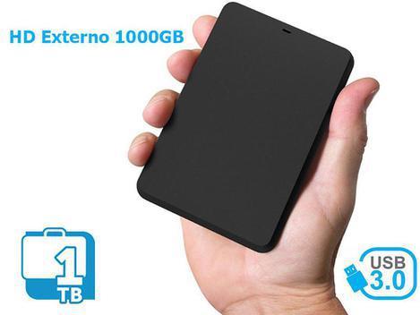 Hd externo 1tb/1000gb portátil pyx one 2,5 usb 3.0 - hd