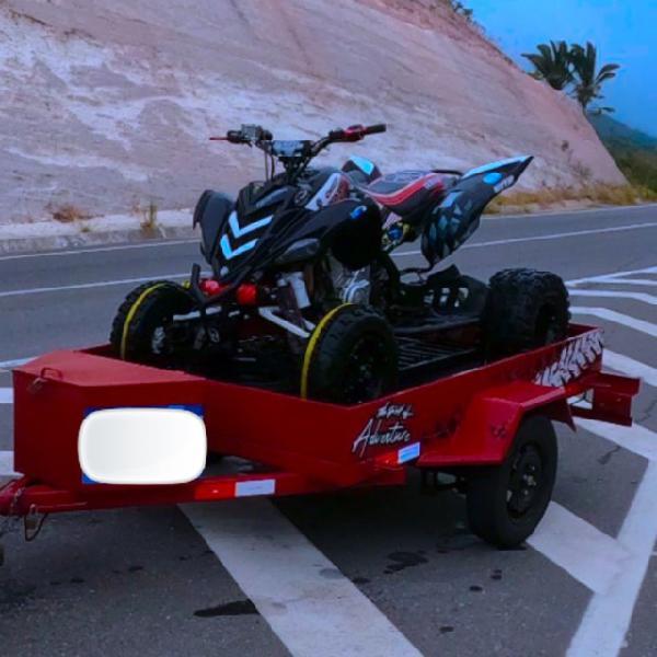 Quadriciclo yamaha raptor 700